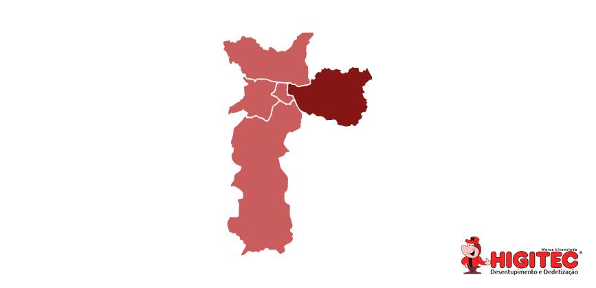 Desentupidora na Zona Leste de São Paulo