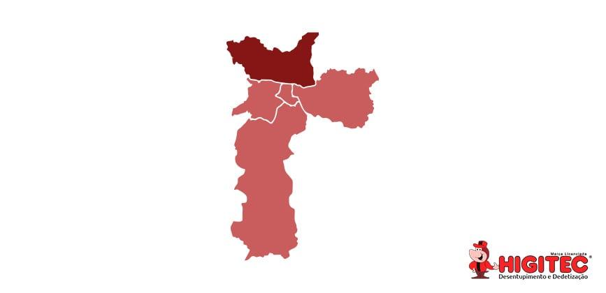 Desentupidora na Zona Norte de São Paulo