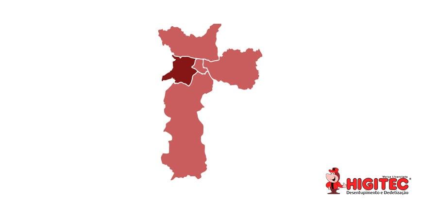 Desentupidora na Zona Oeste São Paulo